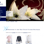 Shopdesign für Sea Cloud Cruises